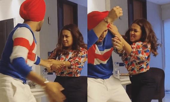 VIDEO : आखिर क्यों लड़ रहे नेहा कक्कड़ और रोहनप्रीत? गुस्से में एक-दूसरे का किया ये हाल