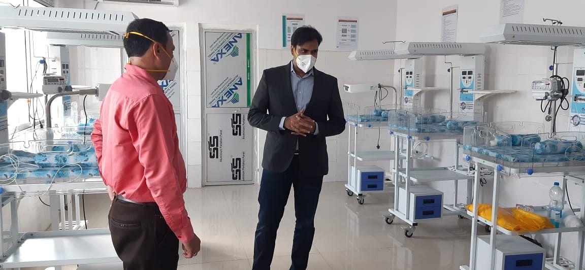 कोरोना की दूसरी लहर से जूझ रहे झारखंड में तीसरे वेब से बचाव की तैयारी शुरू, सरायकेला सदर अस्पताल में बच्चों के लिए हैं 12 स्पेशल बर्न केयर यूनिट, लगेगा ऑक्सीजन प्लांट
