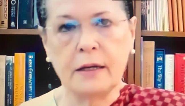 कोरोना को लेकर सोनिया गांधी बोलीं, जिम्मेदारियों के पालन में मोदी सरकार विफल, सर्वदलीय बैठक बुलाने की मांग की