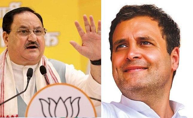 Coronavirus in India : बोले नड्डा- कांग्रेस के व्यवहार से दु:खी, राहुल गांधी ने कहा- गुलाबी चश्में उतारो और नदियों में बहते शव…