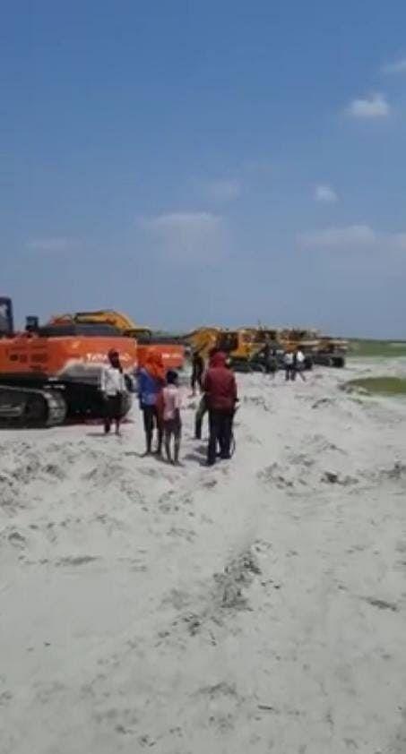 बिहार-यूपी की कूटनीति में नीतीश सरकार का बड़ा फैसला, गंडक नदी के चैनल का काम रुकवाया