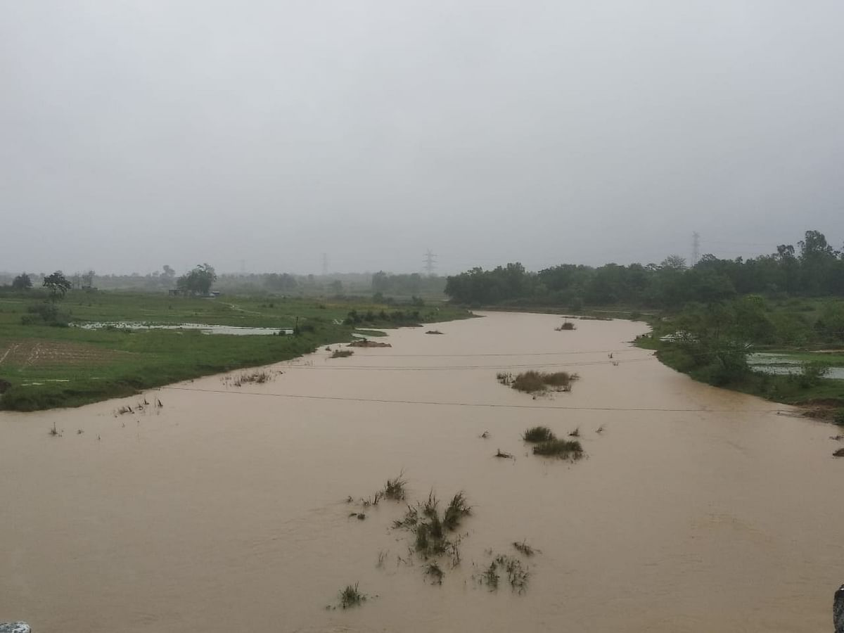 नदी का जलस्तर बढ़ा
