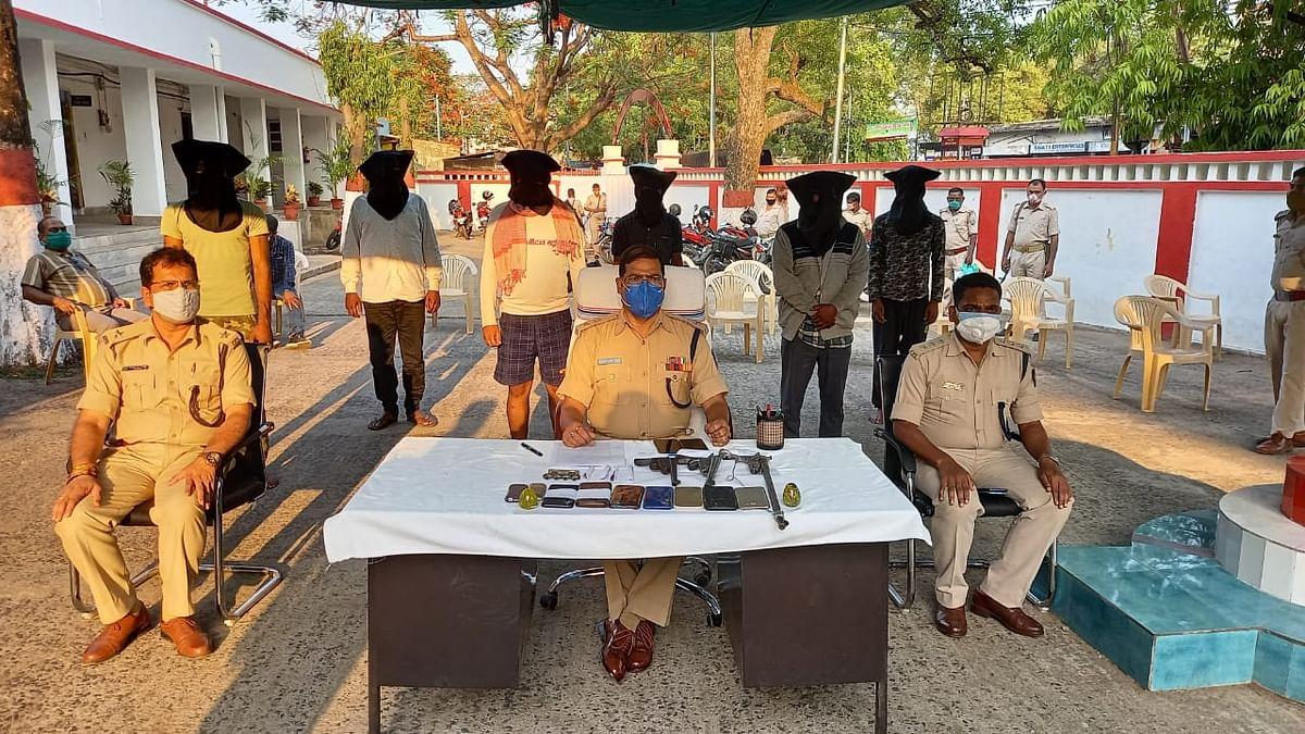 देवघर में CSP संचालक को गोली मारने की घटना मामले में 6 क्रिमिनल गिरफ्तार, जानें आरोपियों का बिहार कनेक्शन