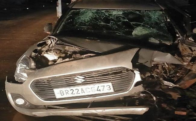 चालक के संतुलन खोने पर पुल की रेलिंग से टकराई कार, दर्दनाक हादसे में 3 दोस्तों की मौत