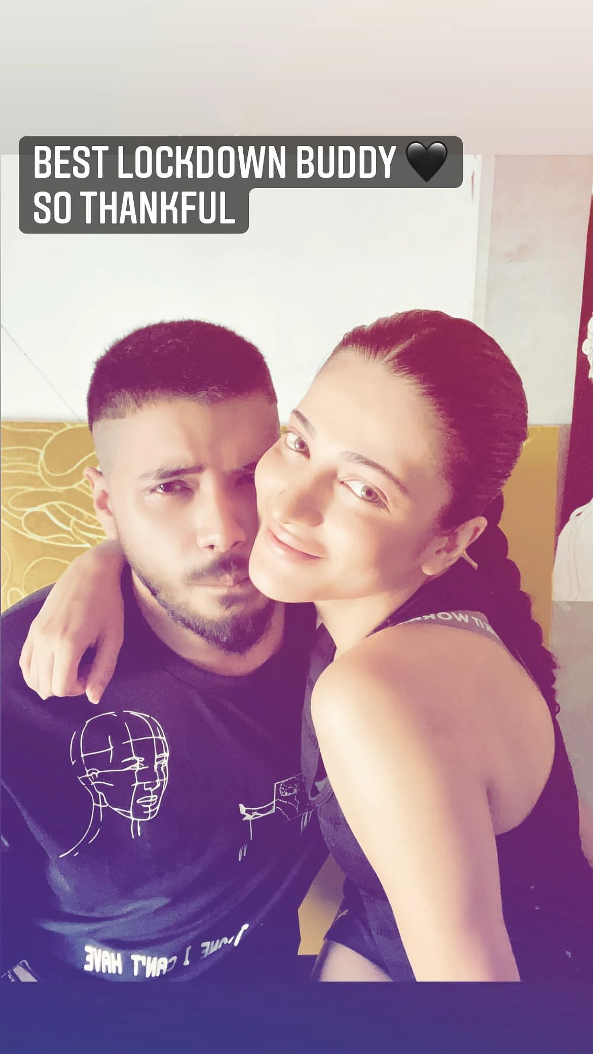 Shruti Haasan instagram story