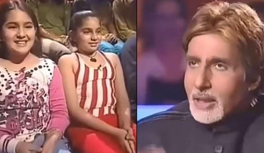 Kaun Banega Crorepati में जब सैफ को सपोर्ट करने पहुंची थीं सारा अली खान, अमिताभ बच्चन ने दिया था ऐसा रिएक्शन, VIDEO