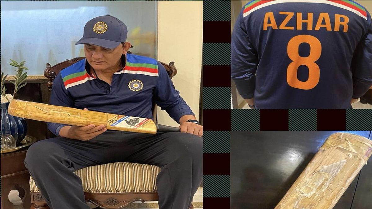 अजहरुद्दीन ने दिखाया अपना लक्की बल्ला, जिससे बना वर्ल्ड रिकॉर्ड अब तक नहीं तोड़ पाया कोई बल्लेबाज