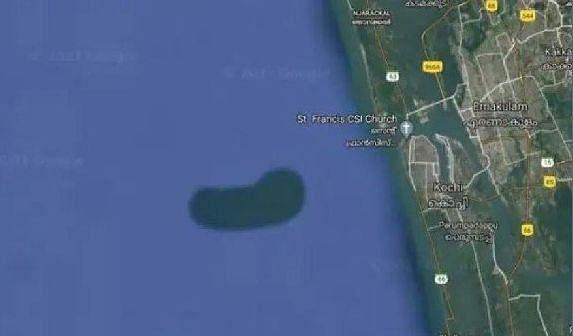 केरल के पास पानी के नीचे है 'अंडरवॉटर आइलैंड'!, गूगल मैप की इमेज ने बढ़ाई वैज्ञानिकों की उत्सुकता, जानिए क्या है राज