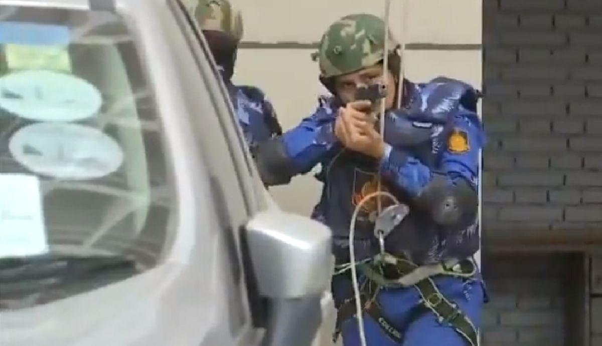 दिल्ली में पैर धरते ही आतंकियों के उखड़ जाएंगे कदम, दिल्ली पुलिस ने तीन जगहों पर किया मॉक ड्रिल, देखिए VIDEO