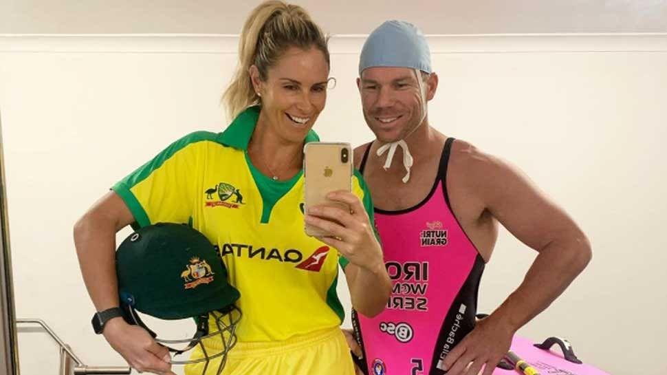 जब डेविड वॉर्नर ने वाइफ के साथ की कपड़ों की अदला-बदली, ऑस्ट्रेलियाई क्रिकेटर को बिकनी में देख फैंस के उड़े होश
