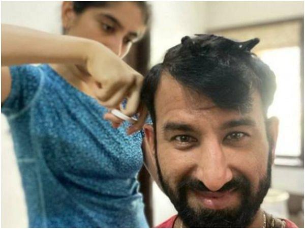 Lockdown में पत्नी ने काटे चेतेश्वर पुजारा के बाल, भारतीय खिलाड़ी ने अब बताया अपने दिल का हाल, देखें वीडियो