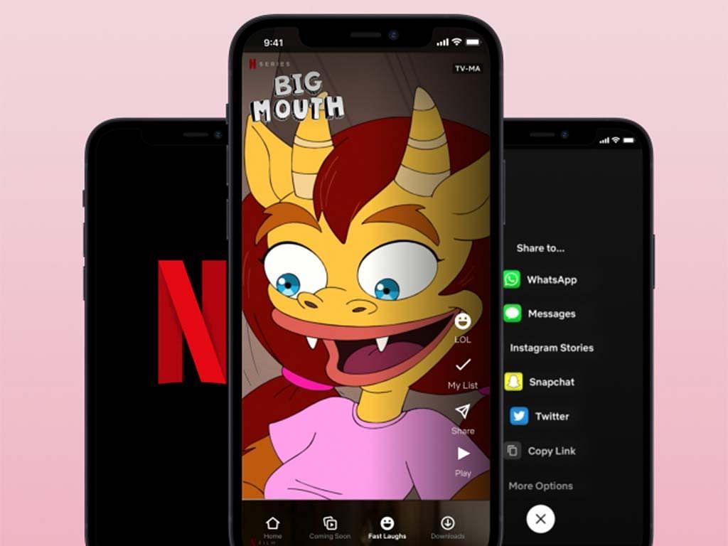 Netflix कर रहा TikTok जैसे फीचर Fast Laughs की टेस्टिंग, मजेदार होगा एक्सपीरिएंस