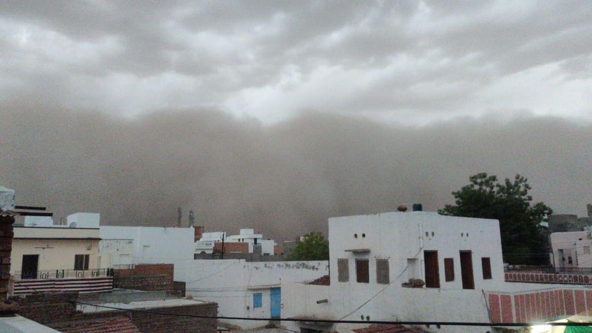 दौसा में धूल भरी आंधी, कोटा-जयपुर में बज्रपात का अलर्ट, मॉनसून की एंट्री से पहले राजस्थान में मौसम ने ली करवट