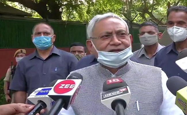 Modi Cabinet Vistar 2021: सियासी अटकलों के बीच दिल्ली पहुंचे नीतीश कुमार, केंद्रीय मंत्रिमंडल में जदयू के शामिल होने पर कही ये बात...