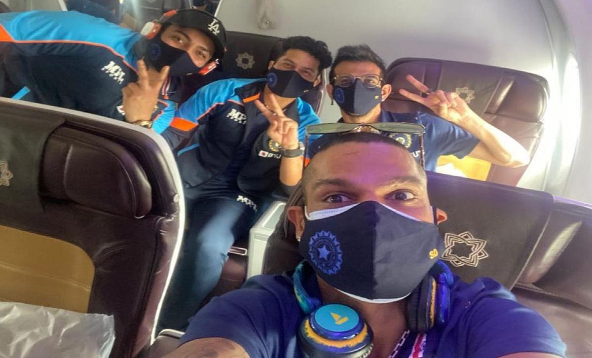 'गब्बर' की अगुआई में श्रीलंका जीतने रवाना हुई टीम इंडिया, धवन ने शेयर की तसवीर, फैन्स बोले - 'A टीम की तरफ बेइज्जती मत करवाना'
