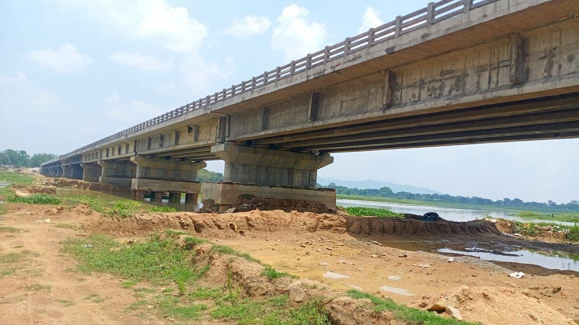 40 करोड़ की लागत से बना पुल