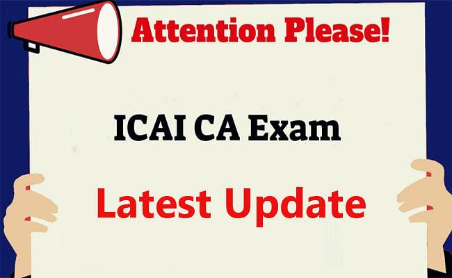 CA Exams 2021: चार्टर्ड अकाउंटेंट एग्जाम्स का मामला मंगलवार तक के लिए टला, क्या निर्धारित समय पर होगी परीक्षा