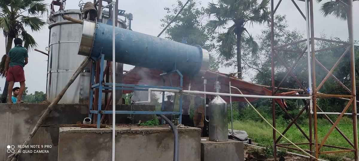 पिपरमेंट की खेती से किसानों की बढ़ रही आमदनी, प्लांट लगने से अब तेल निकालने के लिए नहीं जाना पड़ेगा बिहार