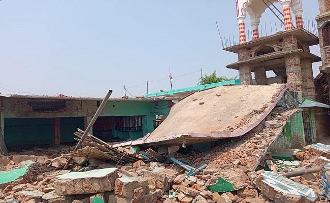 बिहार के मदरसा में बम विस्फोट, इमाम की मौत, मलवे से मिले चौंकाने वाले सामान, जमींदोज मदरसे की जानें कहानी...