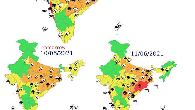Weather Forecast :  दक्षिण-पश्चिम मानसून के प्रभाव से अगले चार-पांच दिनों तक देश के इन हिस्सों में होगी झमाझम बारिश, जानें आपके राज्य के लिए IMD की क्या है भविष्यवाणी...