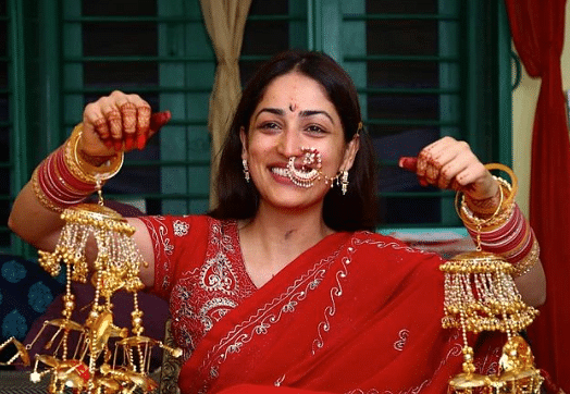 लाल साड़ी में बेहद खूबसूरत दिखीं यामी गौतम, सामने आई शादी की अनसीन PHOTOS, सोशल मीडिया पर वायरल