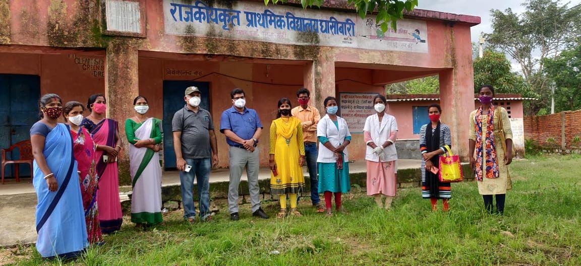 Corona Vaccination In Jharkhand : कोरोना वैक्सीनेशन को लेकर फैली अफवाह के बीच बढ़ी जागरूकता, इस गांव में हुआ 100 फीसदी टीकाकरण