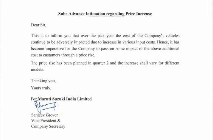 msi price increase