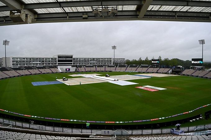 IND vs NZ WTC Final  : बैड न्यूज दिन भर हुई झमाझम बारिश, पहले दिन का खेल रद्द