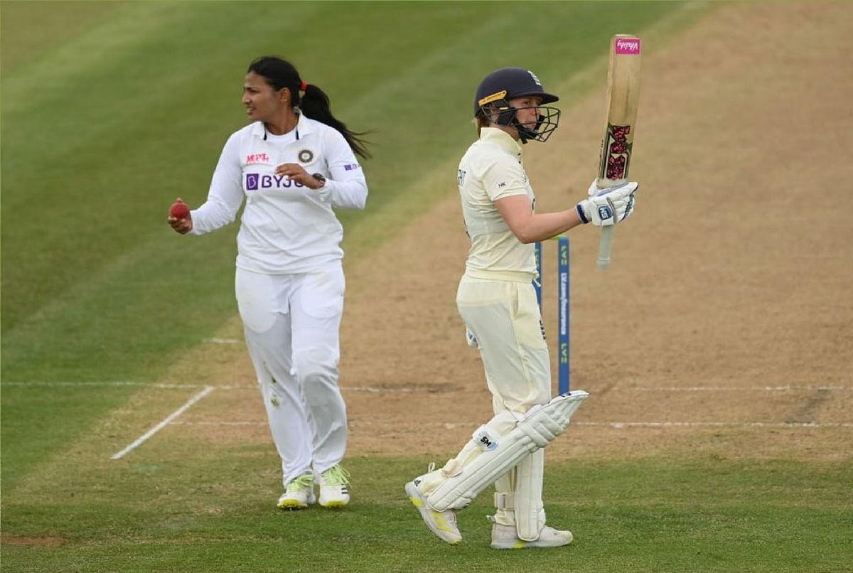 India Women vs England Women 2021 : भारत के खिलाफ इंग्लैंड मजबूत स्थिति में, कप्तान नर्वस नाइंटी की शिकार