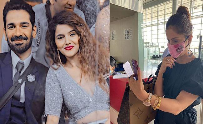 Bigg Boss फेम Rubina Dilaik अपनी मैरिज एनिवर्सरी पर ऐसे कर रही हैं पति Abhinav Shukla को विश, फैंस मना रहे हैं  'RubiNav Day'