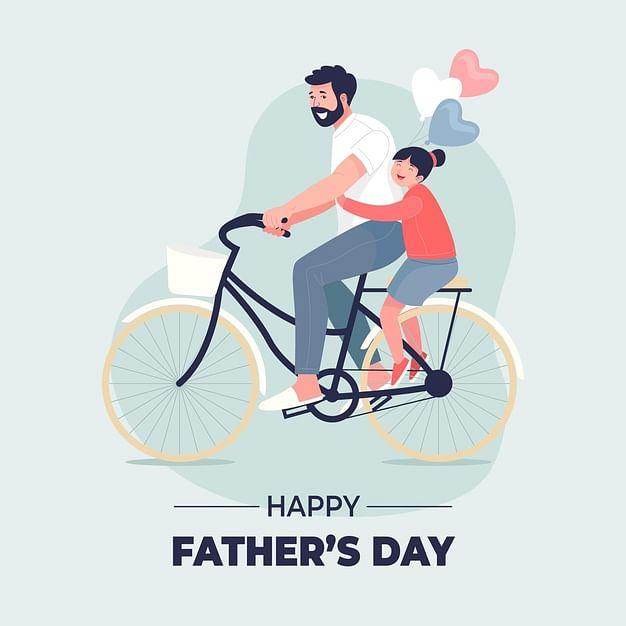 Happy Fathers Day 2021 Wishes, Image, Quotes, Status, Pita Diwas Ki Hardik Shubhkamnaye 2