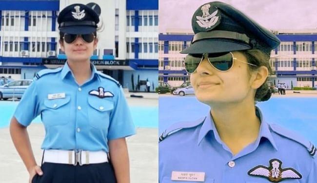 वायुसेना में पहली महिला फाइटर पायलट बनीं माव्या सूडान, J&K के LG बोले- आपकी उपलब्धि ने दिये लाखों बेटियों के सपनों को पंख