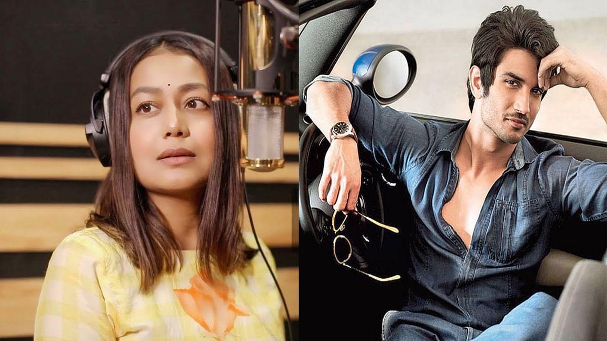 Neha Kakkar ने Sushant Singh Rajput को 'जां निसार' करके किया याद, यूजर ने किया ट्रोल, कहा 'दिखावा तो . . .'