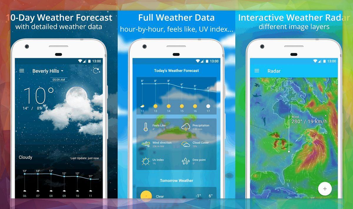 Weather Alert : ये मोबाइल ऐप्स आपको बेमौसम बारिश में फंसने से बचाएंगे