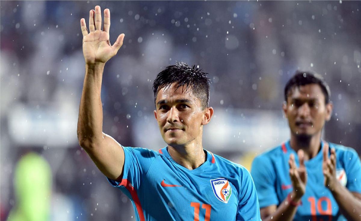 सुनील छेत्री ने संन्यास को लेकर कर दी बड़ी घोषणा, बताया कब कहेंगे फुटबॉल को अलविदा