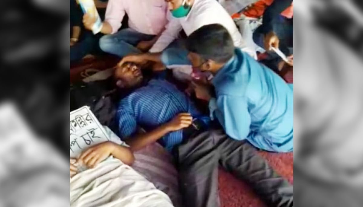 शिक्षक नियुक्ति में धांधली के खिलाफ कोलकाता में 148 दिन से भूख हड़ताल, अभ्यर्थियों की तबीयत बिगड़ी