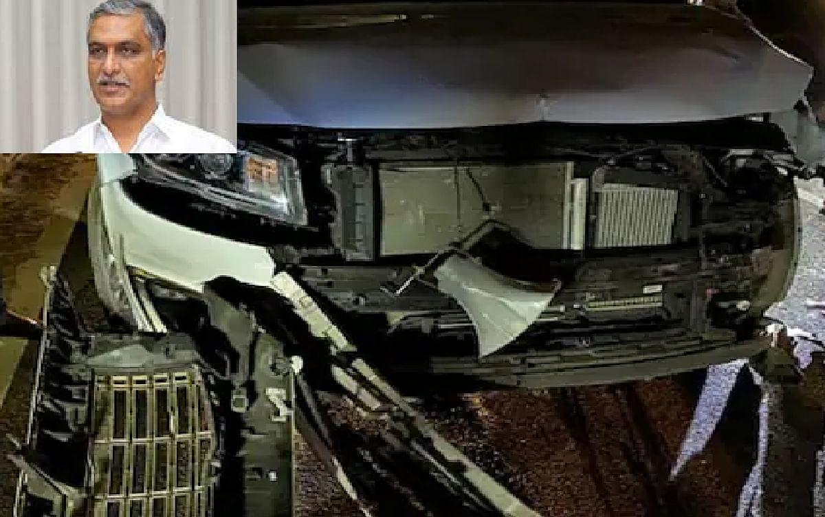 तेलंगाना के वित्त मंत्री की कार दुर्घटनाग्रस्त, घायलों को भेजा गया अस्पताल