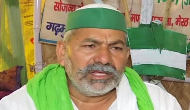सिंघु बॉर्डर हत्याकांड पर बोले राकेश टिकैत, घटना का किसान आंदोलन से नहीं कोई संबंध, षड्यंत्र सरकार की देन