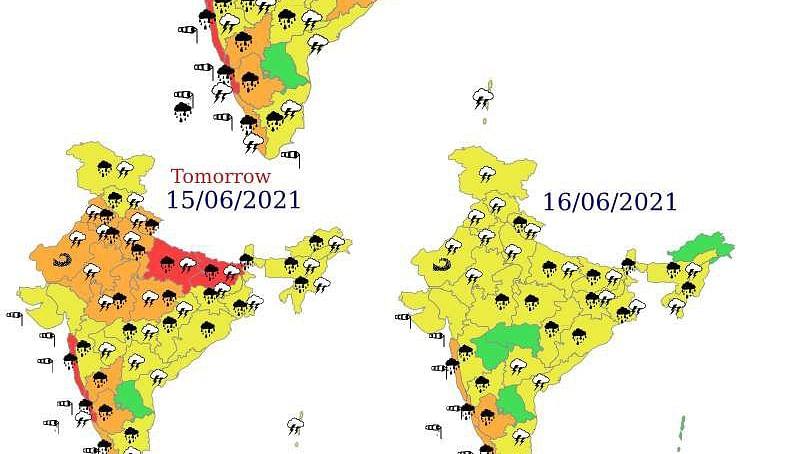 दक्षिण पश्चिम मानसून पूरे देश में हुआ सक्रिय, अब धीमी गति से बढ़ेगा आगे, जानें अगले दो दिनों के मौसम का हाल...