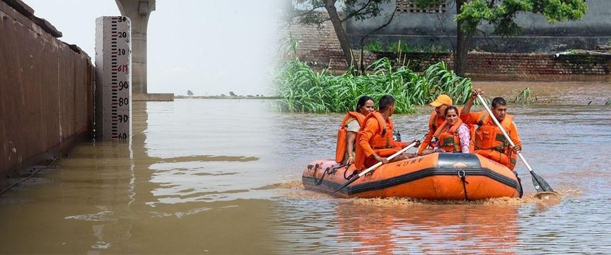 नेपाल में मूसलाधार बारिश से बिहार में बाढ़ का खतरा, झारखंड से बुलायी जा सकती है NDRF की टीम, बैठक आज