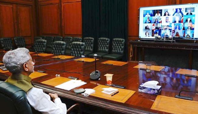 UNSC में बोले एस जयशंकर, अफगानिस्तान में स्थायी शांति के लिए तत्काल नष्ट किये जाएं आतंकियों के पनाहगाह, बाधित की जाये आपूर्ति