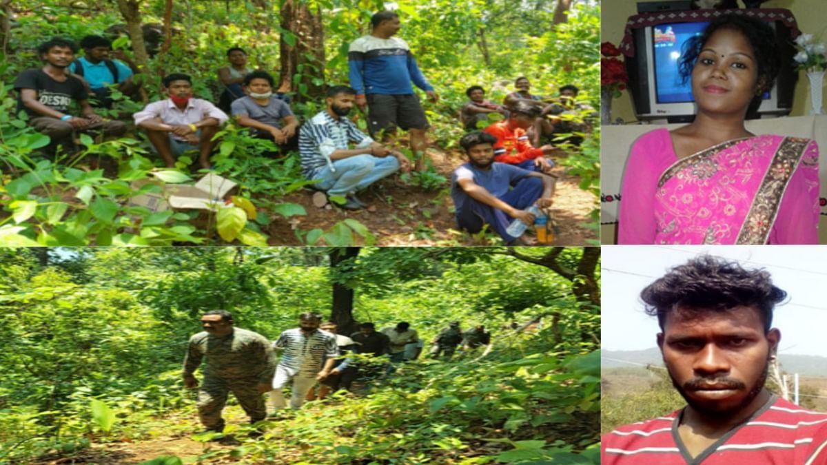 ओड़िशा के बोलानी क्षेत्र के जंगल से किरीबुरू की युवती का शव बरामद, जीजा ने हत्या कर फेंका था खाई में