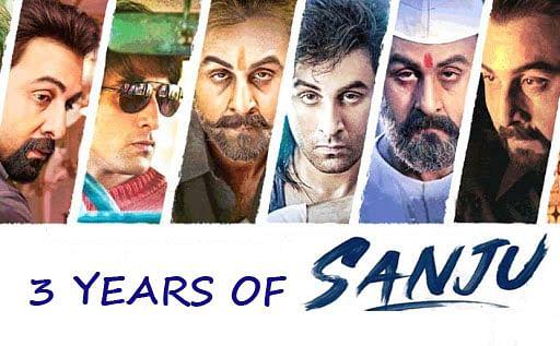 3 years of Sanju: Sanjay Dutt के रूप में खुद को ऐसे ट्रांसफॉर्म किया था Ranbir Kapoor ने, Viral हो रहा है फिल्म का ये Video