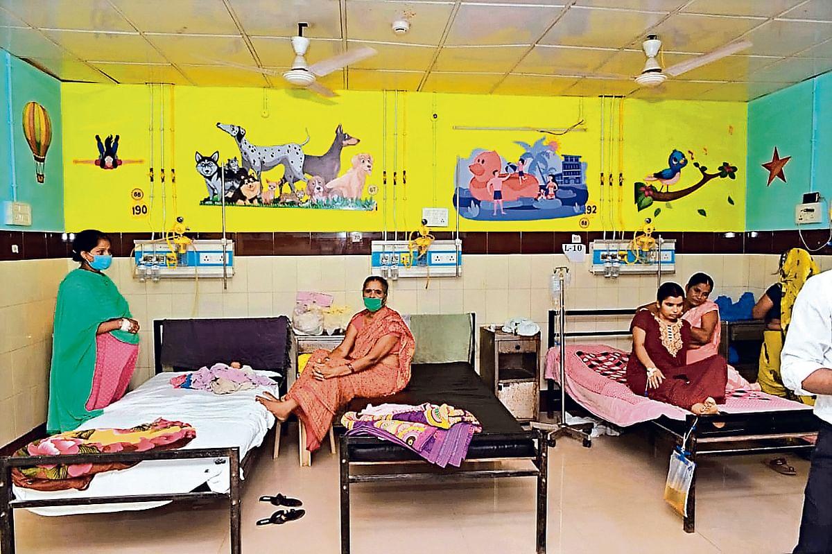 बच्चों को प्ले स्कूल का अनुभव देगा पटना का यह अस्पताल,तीसरी लहर को लेकर शिशु रोग विभाग ने की है ये खास तैयारी