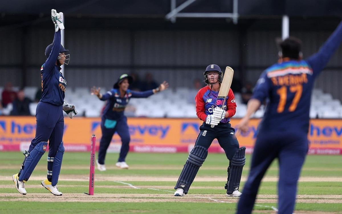 ENGW vs INDW 2nd T20: दीप्ति और शैफाली के दम पर भारत ने इंग्लैंड को 8 रन से हराया, सीरीज 1-1 से बराबर