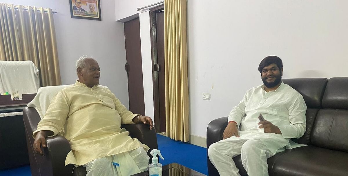 पूर्व सीएम जीतन राम मांझी आवास पर पहुंचे 'नाराज' मुकेश सहनी, बिहार NDA में होगा सियासी उलटफेर?