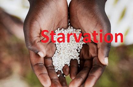 Starvation : हर एक मिनट में भुखमरी से मरते हैं 11 लोग