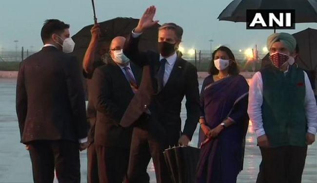 भारत पहुंचे अमेरिकी विदेश मंत्री एंटनी ब्लिंकन, अफगानिस्तान समेत कई अहम मुद्दों पर चर्चा संभव
