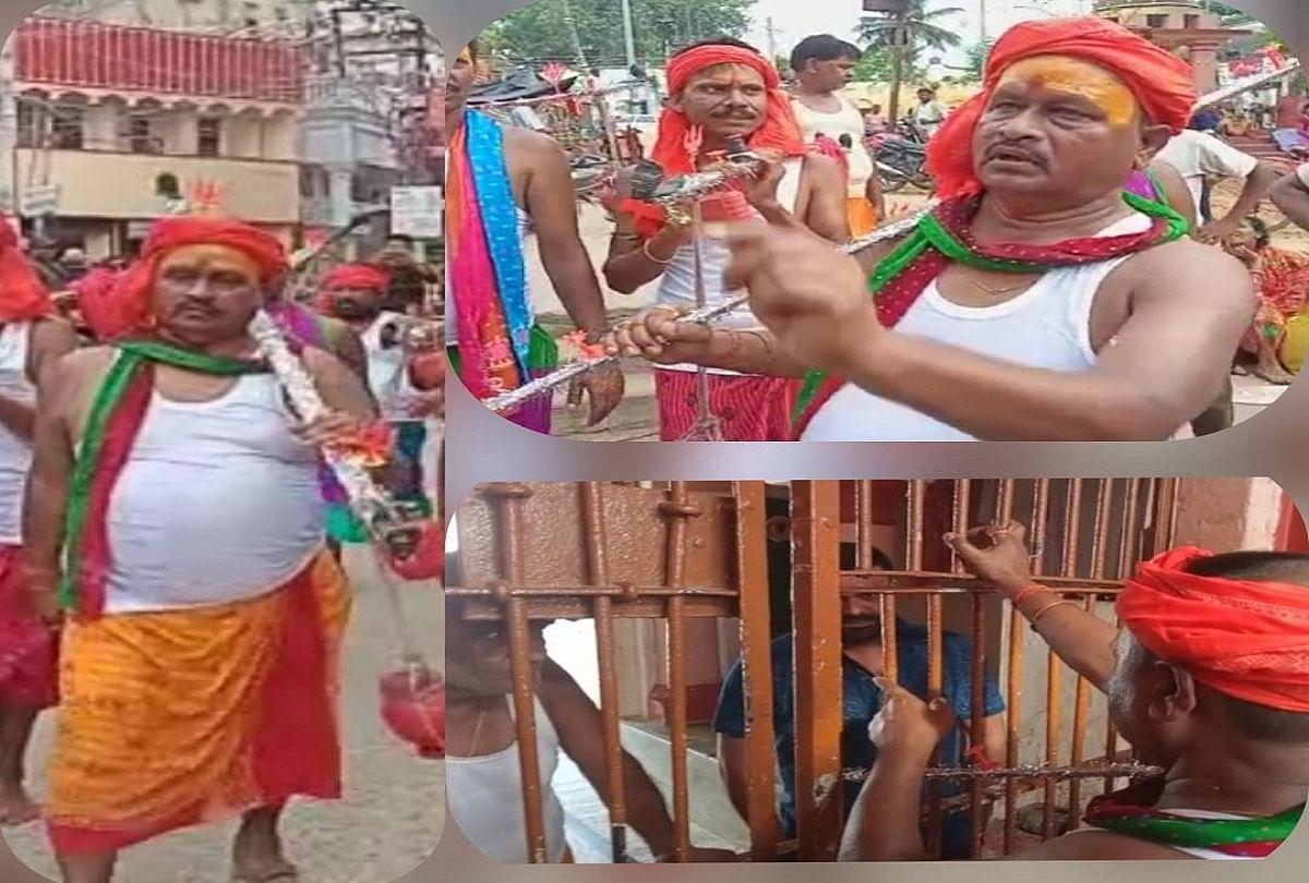 मंदिर का गेट खोलवाने दबंगई पर उतरे जदयू विधायक गोपाल मंडल, सरकारी निर्देश तोड़कर निकाली कांवर यात्रा