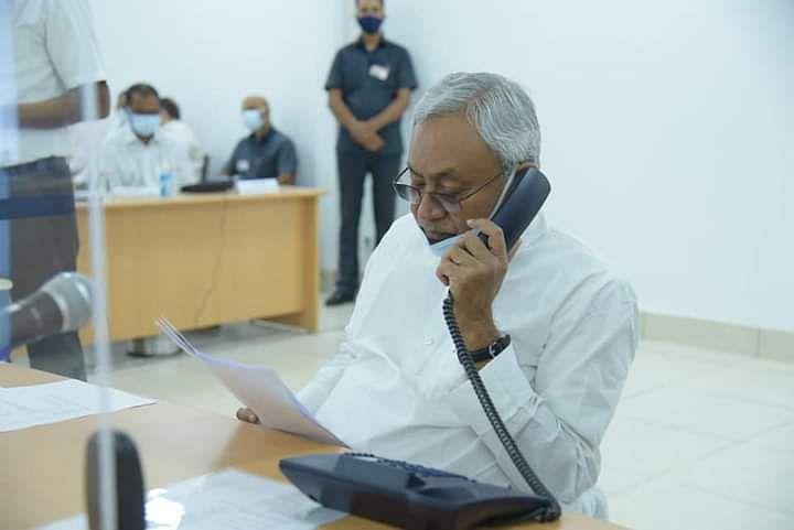 इलाज नहीं मिलने से डरा 'ब्लैक फंगस' का मरीज! सीधे पहुंच गया सीएम नीतीश कुमार के जनता दरबार में